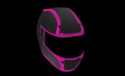 K. Style Moto Helmet Carbon