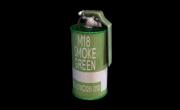 Smoke Grenade Green