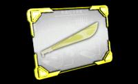 Machete (Gold) Recipe.png