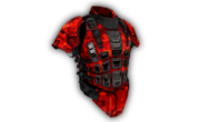 Heavy Armor Digital Red Camo