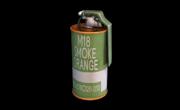 Smoke Grenade Orange