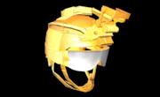 K. Style Helmet Gold