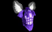 Heavy Armor Fallen Angel Purple