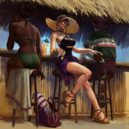 Catwoman BeachParty.jpg