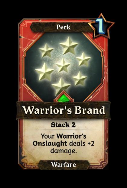 Warrior's Brand