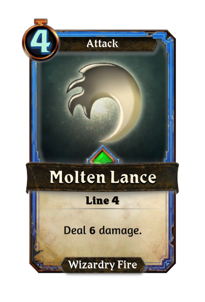 Molten Lance