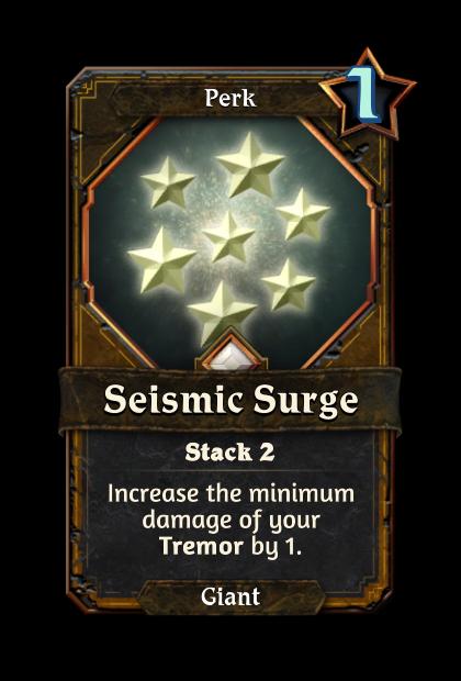 Seismic Surge