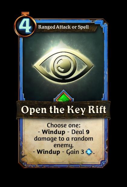 Open the Key Rift