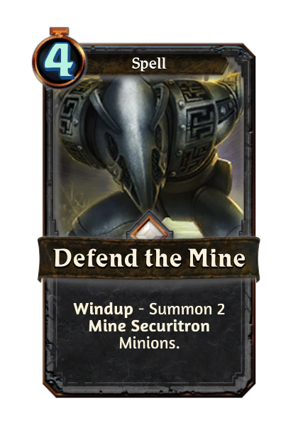 Defend the Mine