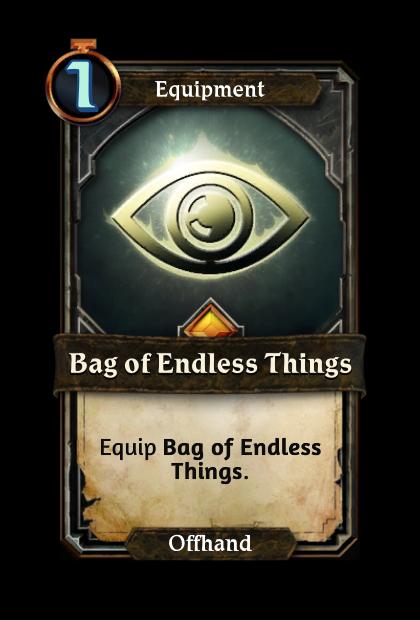 Bag of Endless Things