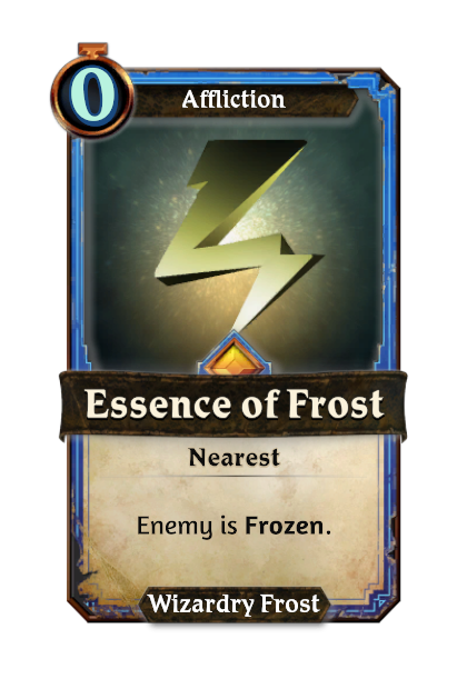 Essence of Frost