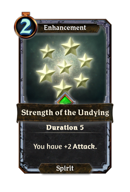 Strength of the Undying