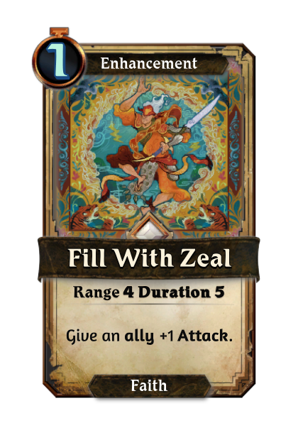 Fill with Zeal