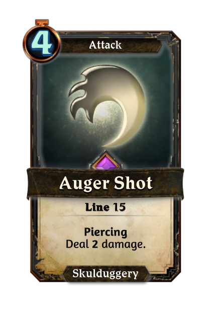 Auger Shot