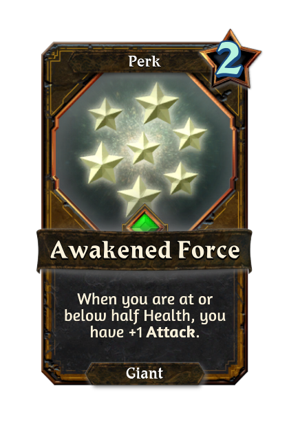 Awakened Force