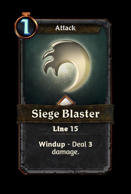 Siege Blaster