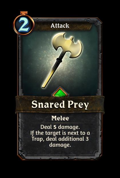Snared Prey