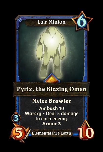 Pyrix, the Blazing Omen