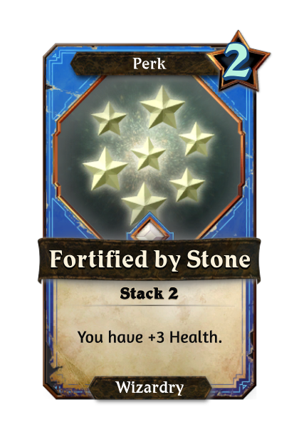 Fortified by Stone