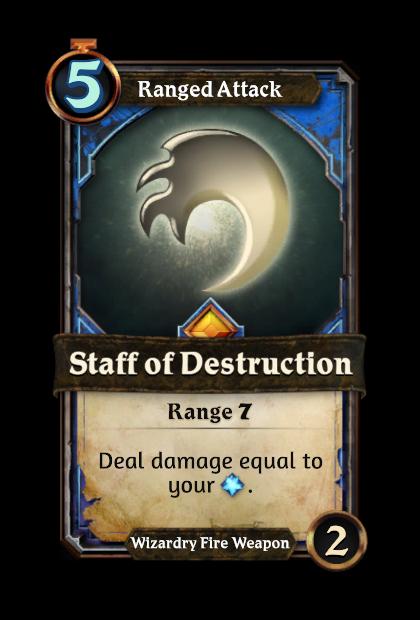 Staff of Destruction
