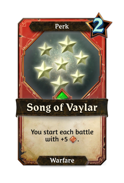 Song of Vaylar
