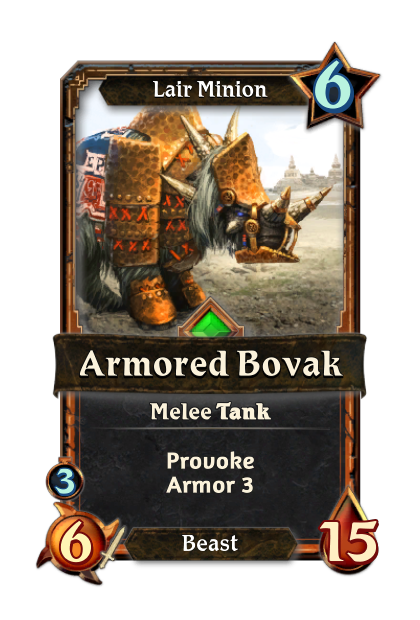Armored Bovak