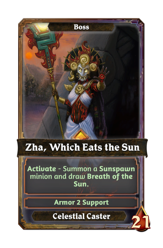 Zha, Which Eats the Sun
