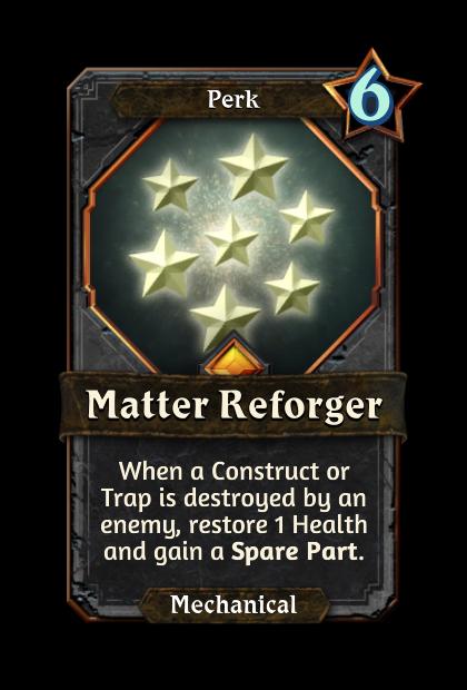 Matter Reforger