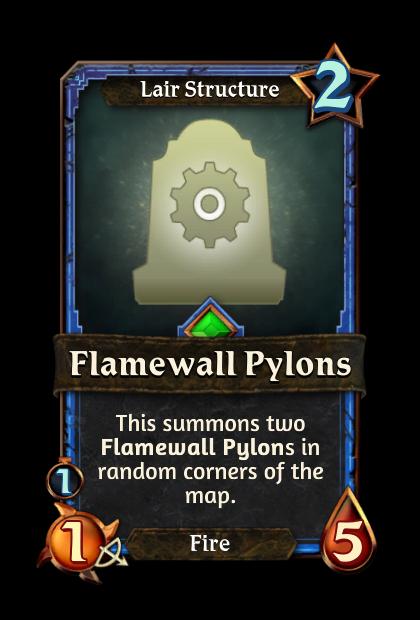 Flamewall Pylons