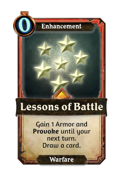 Lessons of Battle