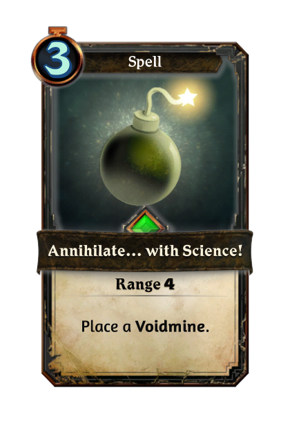 Annihilate... with Science!