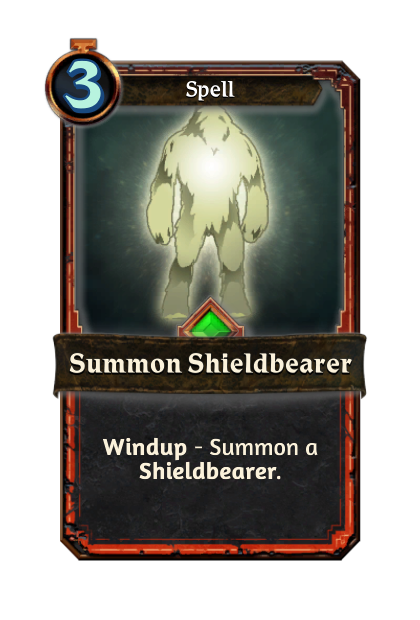 Summon Shieldbearer
