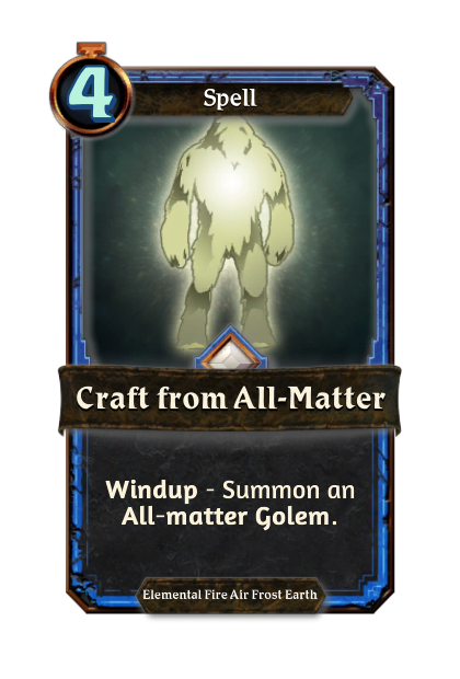Craft from All-matter