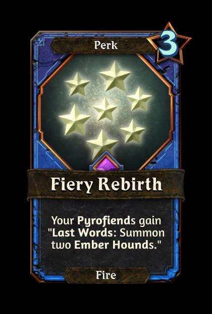 Fiery Rebirth