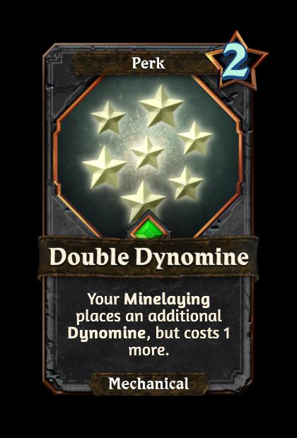 Double Dynomine