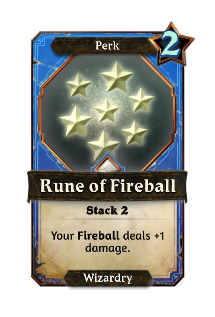 Rune of Fireball