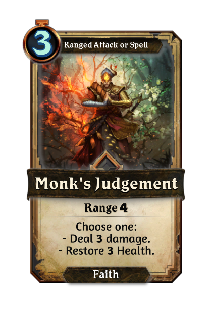 Monk's Judgement