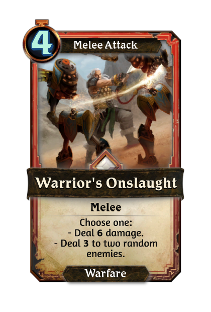 Warrior's Onslaught