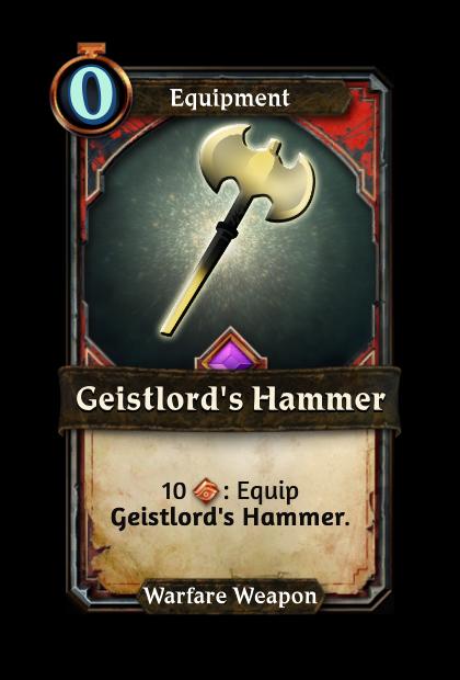 Geistlord's Hammer