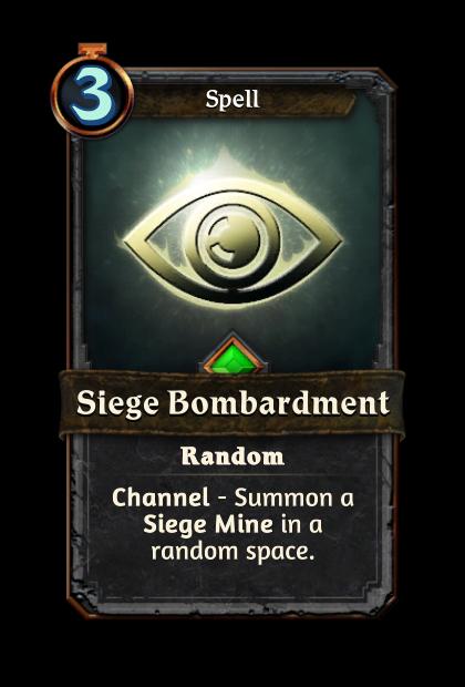 Siege Bombardment