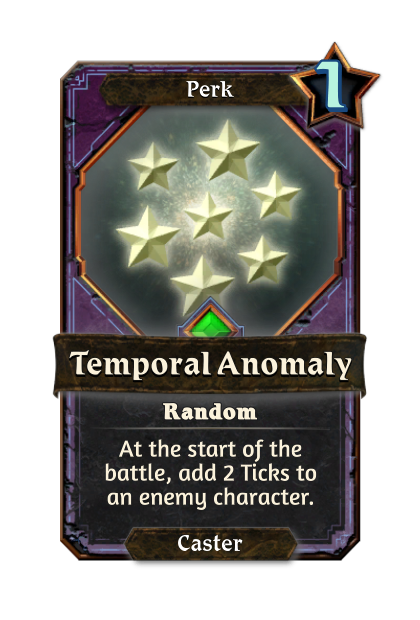 Temporal Anomaly