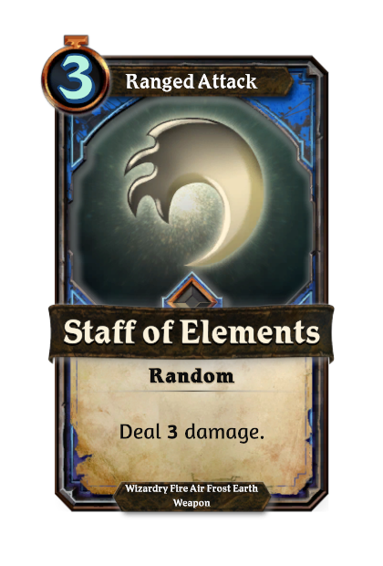 Staff of Elements
