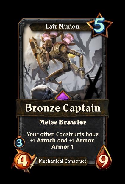 Bronze Captain