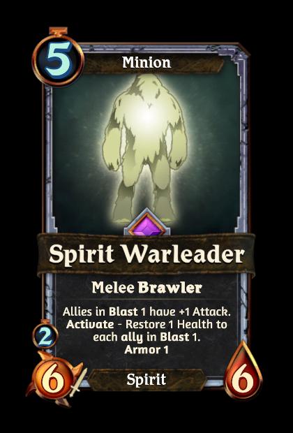 Spirit Warleader