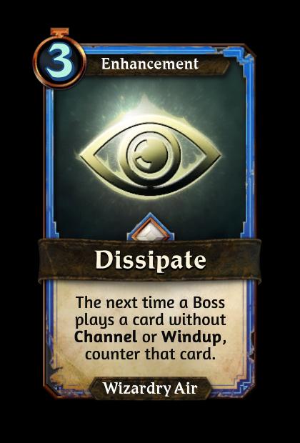 Dissipate