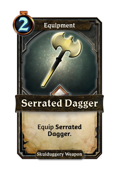 Serrated Dagger