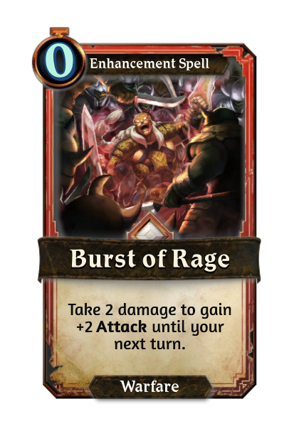 Burst of Rage