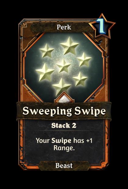 Sweeping Swipe