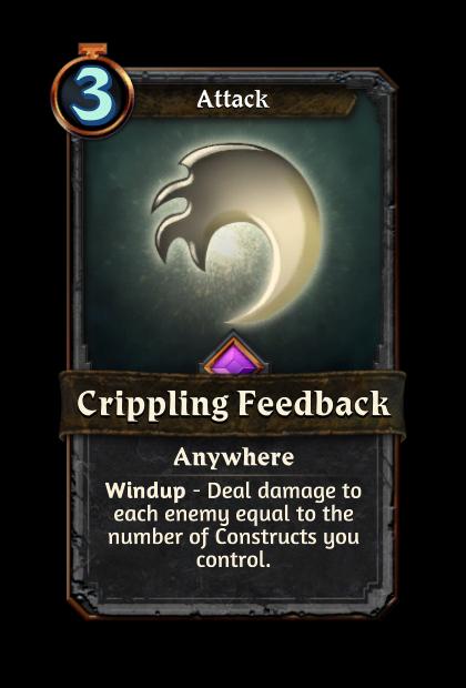 Crippling Feedback