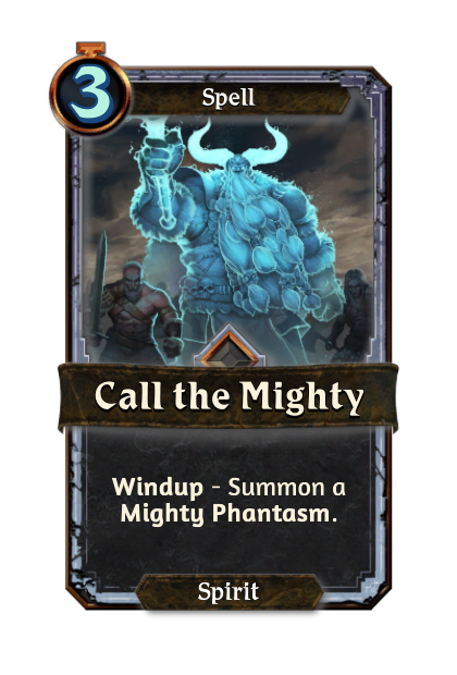 Call the Mighty